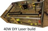 Coupe au Laser CNC DIY 40W, mauvais pour mieux avec 3D impression
