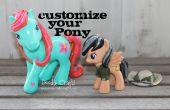 Personnaliser mes petits jouets de poney !
