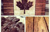 True Love de Patri-Art - mon drapeau canadien bois