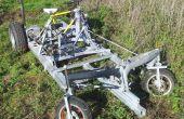 Vélo actionné véhicule à 4 roues (DiffBikeDorli)
