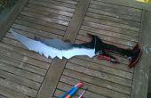 Skyrim daedrique épée en mousse