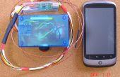 Combiné IR / TypeK Android contrôlée température mètre