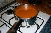 Rôti de soupe aux tomates