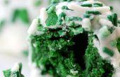 Green Velvet Cake pop - parfait pour la saison de la Saint-Patrick