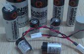 3.6V batterie lithium ER18505 pour compteur d'eau intelligent