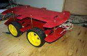 DIY 4WD carrosserie pour les projets de robotique arduino et voitures RC