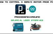 Comment contrôler un moteur servo de Pc avec GUI