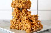 Beurre d'arachide Cheerio barres