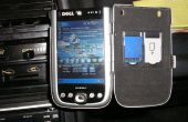 Support voiture PDA de sucre libres Altoids tin (à l'intérieur du boîtier en aluminium)