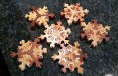 Flocon de neige en bois Puzzle Stockingstuffers