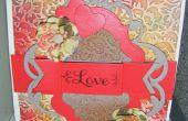 Comment faire un Anna Griffin en relief Floral Love Card