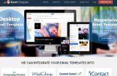 PSD à Conversion & Email Templates Design fournisseur de messagerie