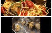 Spaghettis aux palourdes recette