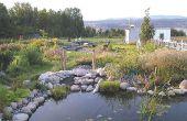Flux de jardin - construire un flux ou un ruisseau / naturelles filtre pour étang