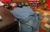 Déconstruction d'une paire de Jeans avec le moins de déchets