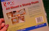 Comment transformer les tampons en bois en timbres utilisables peu encombrant avec monture N' tampon mousse