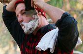 Comment se raser avec une hache