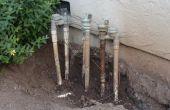 Économiseur d'irrigation vanne riser