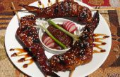 Ailes de Dragon Sweet sauce d'arachide piquante