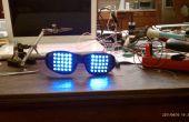 LUNETTES FUNKY de RAVE (LED MATRIX lunettes utilisant un PICAXE)