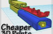 Impressions 3D moins chers