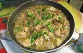 Pakistanais blanc de poulet désossé Handi