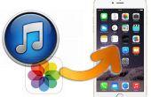 Comment faire pour extraire des Photos de rouleau d'appareils d'iTunes