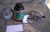 Papier poudre noire / cannon pyrodex mini
