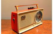 Ampli guitare Vintage Radio