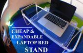 Pied de lit ordinateur portable bon marché et extensible