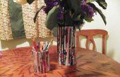 Vase et crayon porte-revues