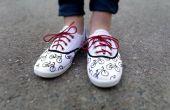 Chaussures en toile de vélos