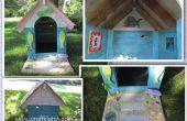 Doghouse Beach House bricolage - à l'aide de matériaux recyclés/Repurposed