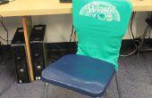 Recycler les vieux T-Shirts en housses de sièges en classe