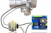 Thermostat intelligent contrôlé HVAC Duct amortisseur