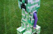 Télescopique Costume de plante grimpante Minecraft