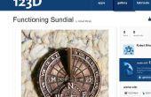 Custom, fonctionnement montre-bracelet cadran solaire TJT2/6
