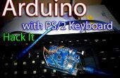 Arduino + PS/2 clavier contrôlé LED clignotant