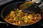 Comment faire de chou-fleur et pommes de terre (Aloo Gobi)