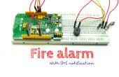 SMS alarme d'incendie