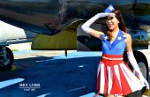 Sew bricolage Captain America USO Girl Costume-pas !