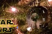 Rougeoyant Death Star Noël ornement