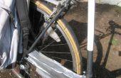 Des pneus de vélo recyclés comme fender