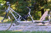 Construire un vélo couché à empattement long faible racer