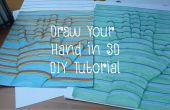 Dessiner votre main en 3D - tutoriel bricolage