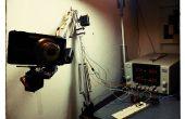 Bras de robot d'une lampe de bureau (Tertial IKEA hack)
