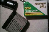Comment faire maison 35mm film Redscale!!