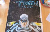 Acrylique peint Tron Legacy Poster