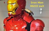 Costume de l'animatronique Iron Man Mk III
