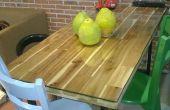La table à manger style industriel artisanale
